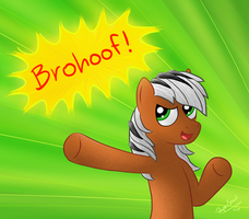 Brohoof! by FilPaperSoul