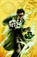Rizal Green Lantern by J-Garou