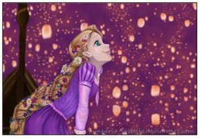 Disney Tangled:I See the Light by kimberly-castello
