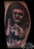 Johnny Cash by state-of-art-tattoo