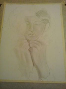 Pencil Drawing 1 (not finished by bettyboop5560