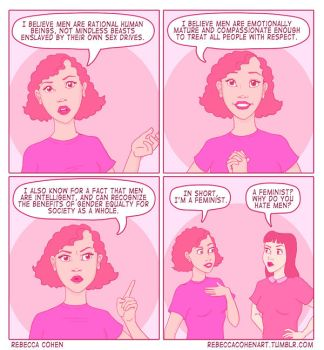 Feminists Hate Men by Gyno-Star