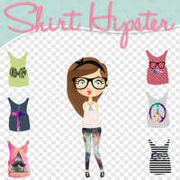 Shirts Hipster para tus dolls by MikaStoessel
