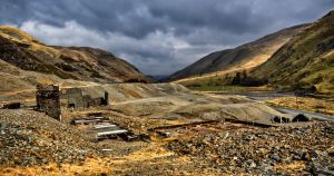 Cwmystwyth Mines by CharmingPhotography