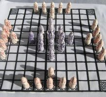 Hnefatafl Set by faecritters