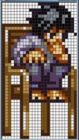 L X-Stitch Pattern by missy-tannenbaum