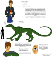 Logan Green Reference by IchikoWindGryphon