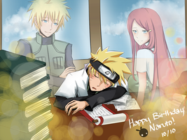 Happy Birthday Naruto! by SUP3Rbun