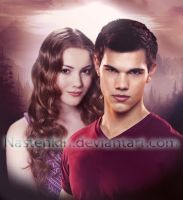 Renesmee and Jacob by Nastenkin