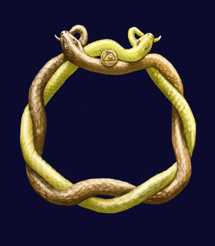 Ring of Snakes by Crowsrock