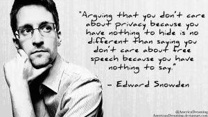 Don't Care About Privacy? by AmericanDreaming