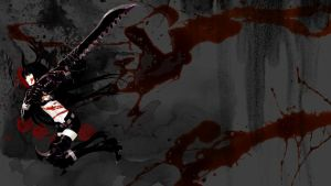 BRS blood (ninja wallpaper) by editingninja