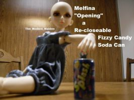 Melfina Re-closeable Candy Soda Can by The-Modern-Maiden