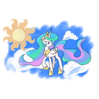 Princess Celestia by Amaterasu-92