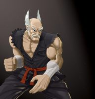 boss tribute, heihachi by benscott81