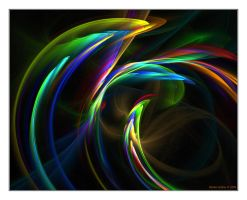 Rainbow Flowers No.3 by denise-g