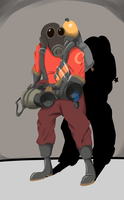 TF2 Pyro by LaughingZoroark