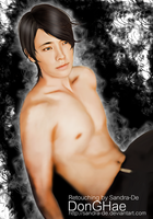 Donghae Sexy, Free And Single Ver B Fan-Art by Sandra-De