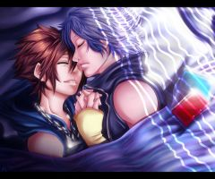 SoRiku: Sleep by nicegal1