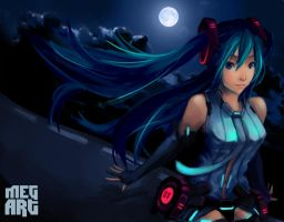 Miku Append by Me9aLodon