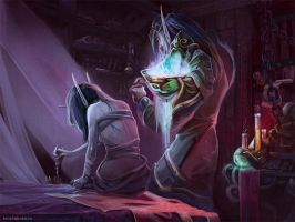 No magic by AppleSin