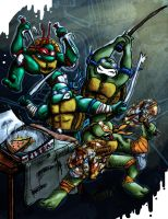 TMNT -My Slice- by Tystarr