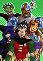 Teen Titans by ADL-art