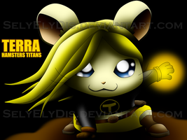 Terra - Hamsters Titans by SelyElyDis