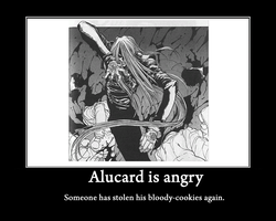 Demotivational Alucard 3 by KikkaChan