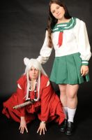 Inuyasha and Kagome by LaMisere