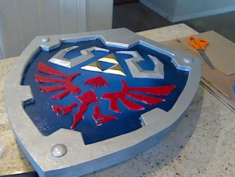 Hylian Shield by Lucario-Stl