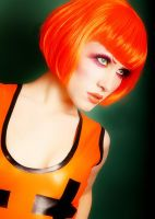 Orange. latex. Close up. by Ryo-Says-Meow