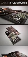 Luxury Trifold Brochure by UnicoDesign