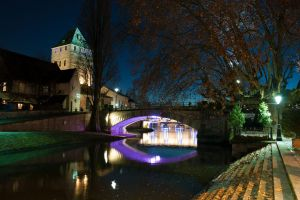 Strasbourg by Night 003 by LordGuardian