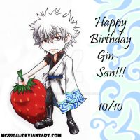 Gintama:Happy Birthday Gin-San by ChaosComix