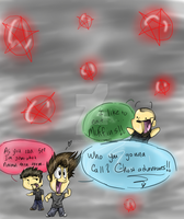 Ghost Adventures Chibi Party by dragonmagic94