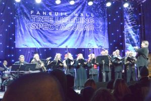 Boston's Faneuil Hall TreeLighting,Pops Orchestra2 by Miss-Tbones