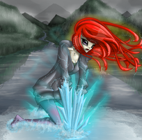 Fire and Ice by OryxPixie