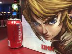 Share a Coke with Link XD by elfofcourage