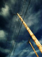 powerlines by chanmanthechinaman