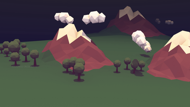 Blender - low poly world 03 by KeraVX