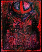 SHREDDER  red - ER by tOkKa