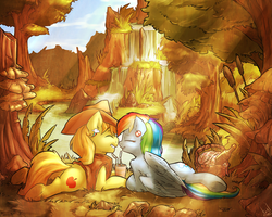 Forest Picnic by atryl