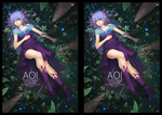 "Stereoscopic: Cross Eye ""Aoi"" by lires"