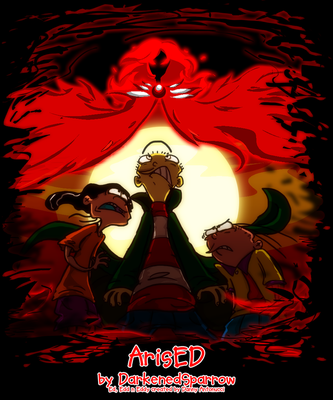 ArisED - Cover Page by DarkenedSparrow