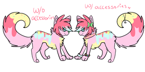 adoptable auction //sold by wingedkin