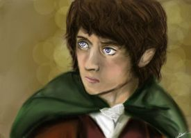 Frodo Baggins by Idontwannamissathing