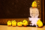 follow me my chick-a-dees. by wannywanwan