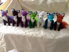 A Spectrum of Foxes by hollyann