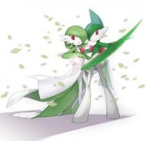 Gardevoir + Gallade Cursor by XL-SwAt